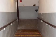 vstup do podzemia krytu